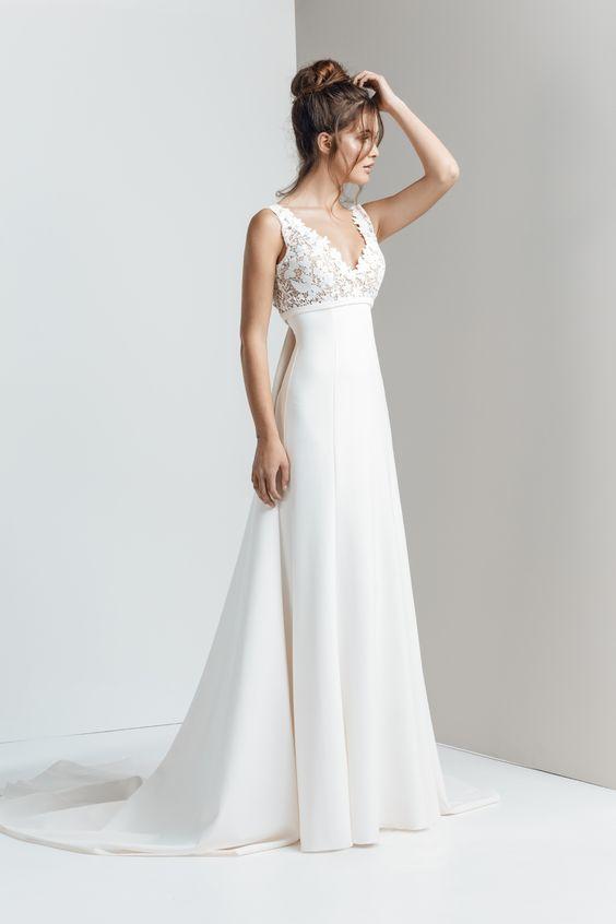 coco de riquer_vestido de novia corte imperio_blog
